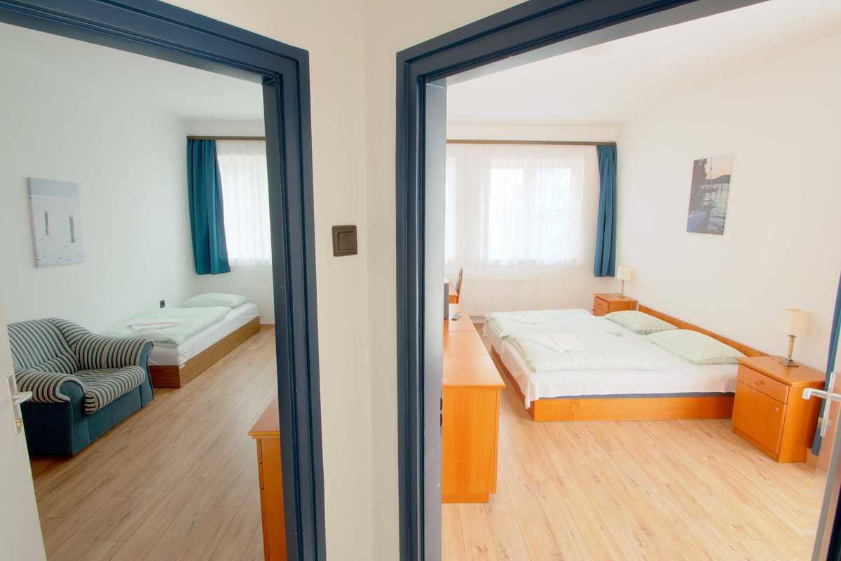 Aquilo Hotel Panoráma - kétszobás lakosztály
